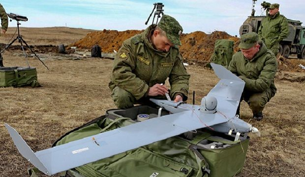 The drones are playing an increasingly important role in modern warfare / Russian Defense Ministry
