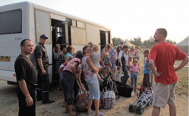 Количество зарегистрированных переселенцев из Донбасса и Крыма на 5 августа составило 1,397 млн человек / фото ГСЧС