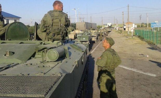 Иллюстративное изображение: российские военные на границе с Украиной / @MaloverjanBBC