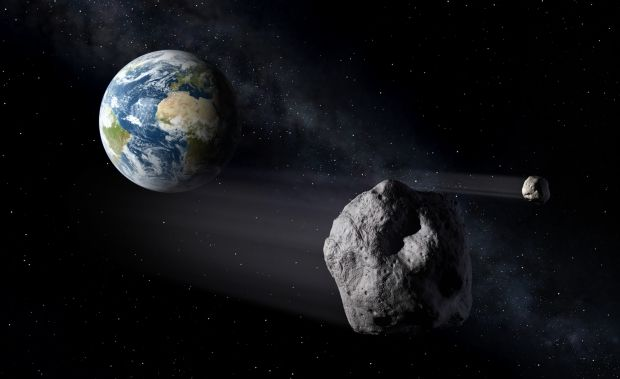астероид / neo.ssa.esa.int