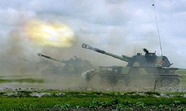 На Луганщине заметили вражеские гаубицы / фото Министерства обороны РФ