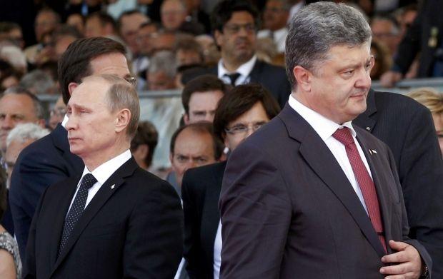 Владимир Путин и Петр Порошенко / REUTERS