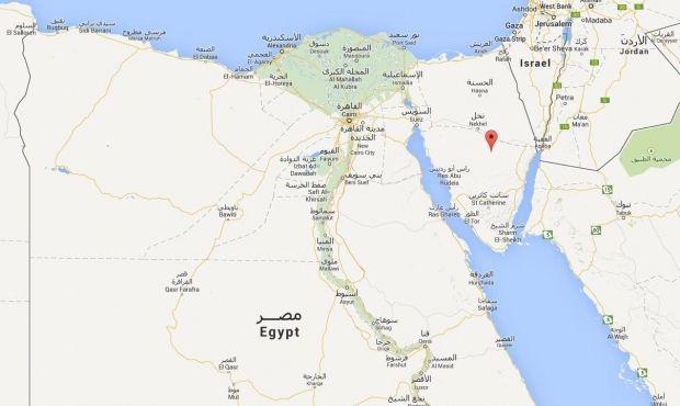 Террористы атаковали блокпосты египетской армии на Синайском полуострове в Египте / google.com.ua