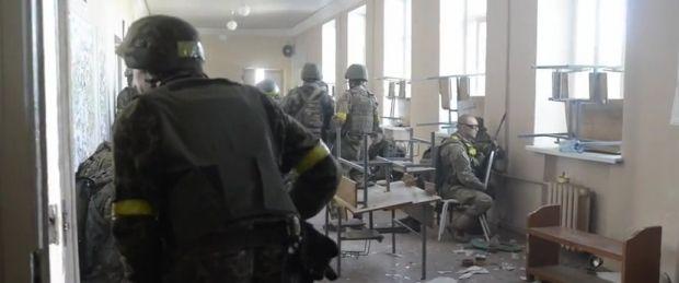 Появилось видео боевых действий под Иловайском