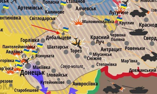 Силовики отошли от Дебальцево на подготовленные позиции / slovoidilo.ua