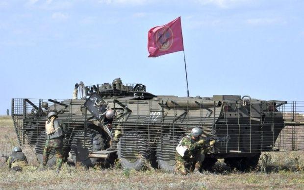 Русские обстреляли позиции ВСУ
