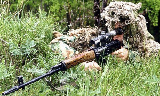 С 2016 года подготовку снайперов осуществляют на территории оккупированного Донбасса / Фото Министерства обороны РФ