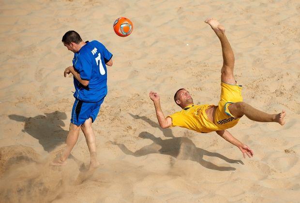 Сборная Украины выиграла первый групповой турнир / beachsoccer.ua-football.com