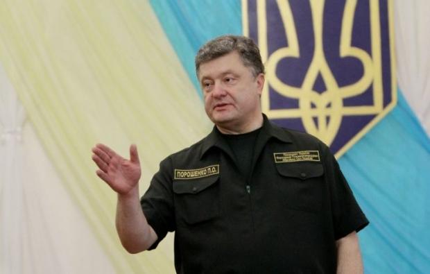 Президент отметил чрезвычайное мужество украинских военных / Фото УНИАН
