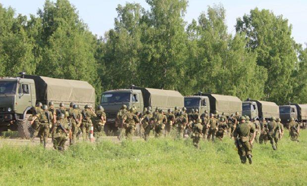 Частина загонів т. н. «новобранців» комплектується виключно представниками Дагестану і Чечні / Фото Міноборони РФ