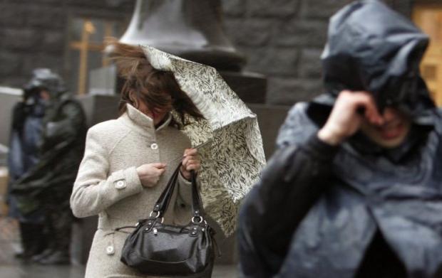 В Україні оголосили штормове попередження /Фото УНІАН