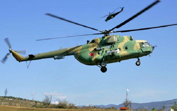 Ми-8 разбился / Фото Министерства обороны РФ