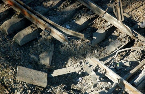 An illustrative image: A railways blast  / Photo from dumskaya.net
