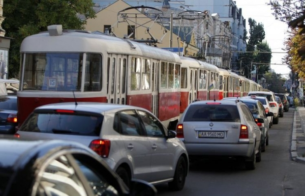 трамвай / Фото УНІАН