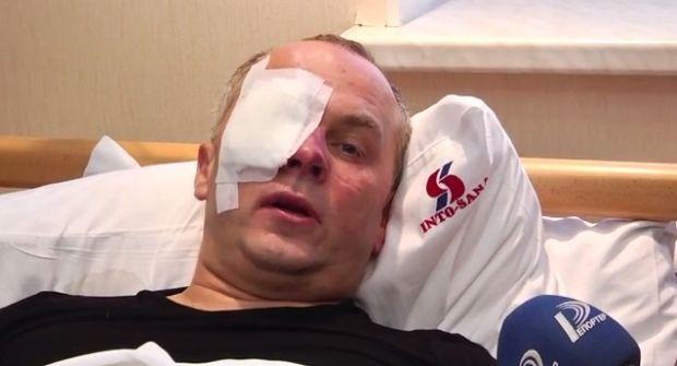 Шуфрича избили в Одессе / Кадр из видео Youtube