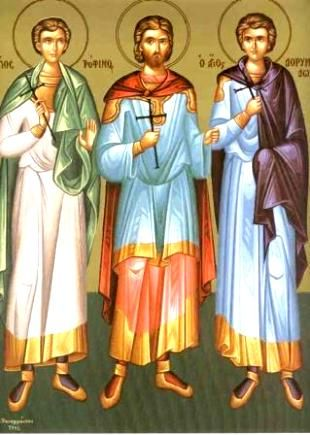 2 жовтня - пам'ять святих мучеників Трохима, Саватія і Доримедонта | УНІАН