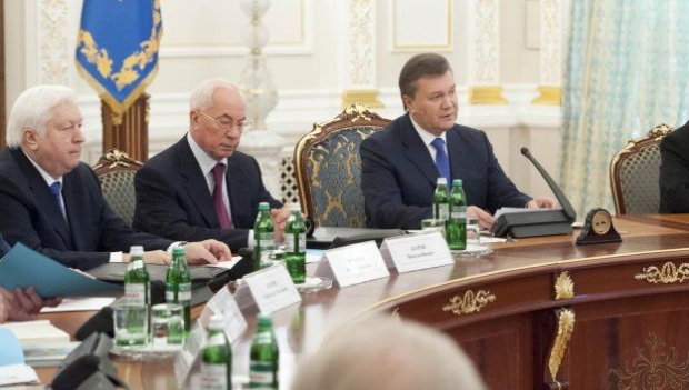 РНБО ввела санкції проти Януковича, Азарова, Пшонки та інших чиновників / фото УНІАН