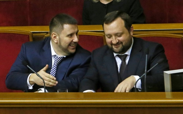 Александр Клименко и Сергей Арбузов / фото УНИАН