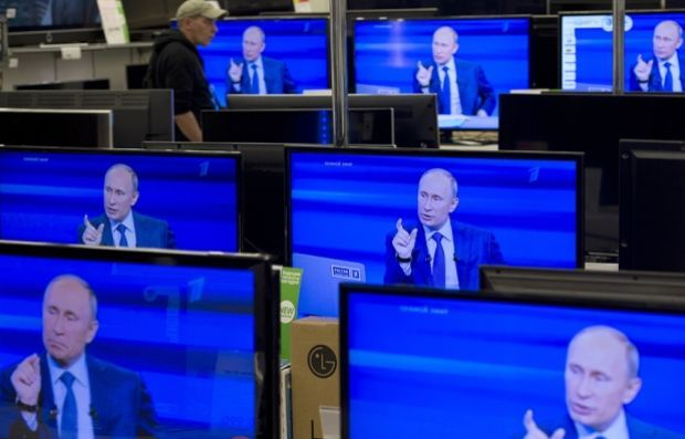 Европа  как никогда активно борется с путинской пропагандой / иллюстрация ridus.ru