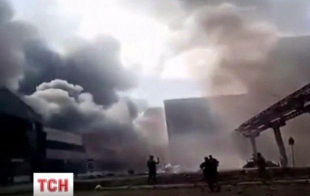Бойовики активно обстрілюють місто Щастя / ТСН
