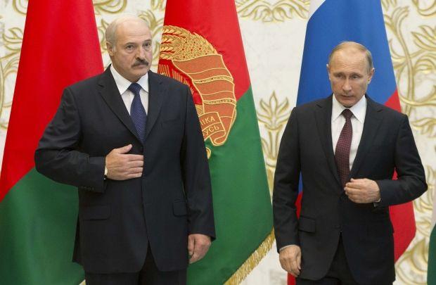 Олександр Лукашенко і Володимир Путін / REUTERS