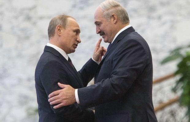 Владимир Путин и Александр Лукашенко / фото REUTERS