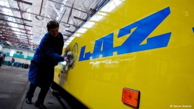 ЛАЗ, Львовский автобусный завод, Львов / thekievtimes.ua