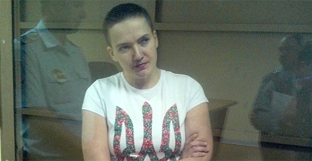 Savchenko 'tortured by sleep deprivation,' her lawyer claims / photo facebook.com/OZON.monitoring