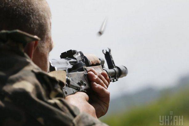 На Донбассе стреляли российские снайперы / фото УНИАН