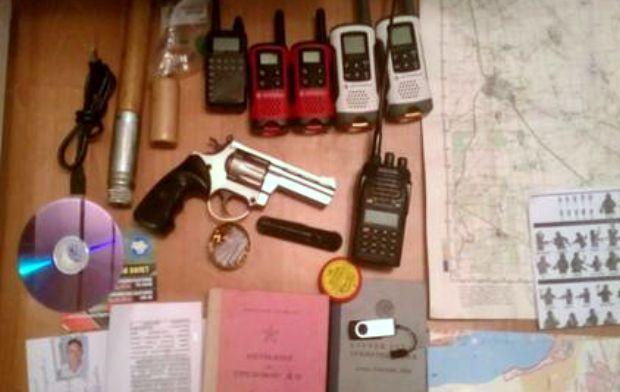 У преступников изъяли оружие и средства связи / sbu.gov.ua