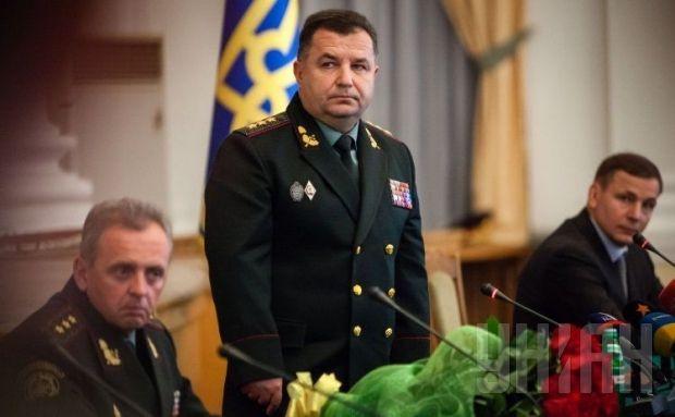 Defense Minister Stepan Poltorak / Photo by UNIAN