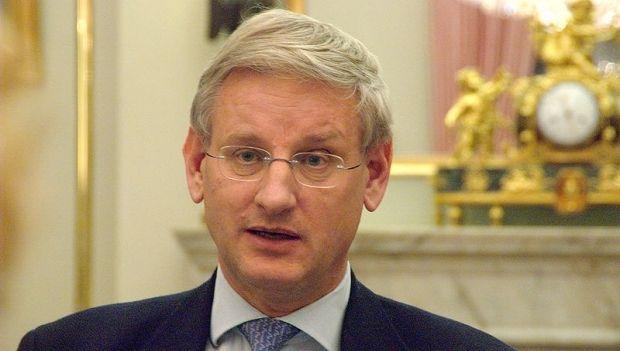 Former Swedish Foreign Minister Carl Bildt / uk.wikipedia.org