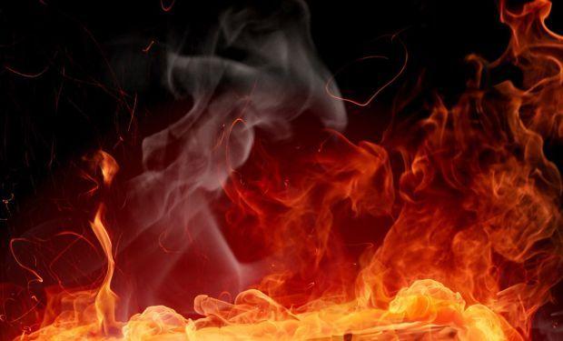 Вогонь вирвався з-під землі, і ніхто не знає, чому / фото www.1366x768.ru