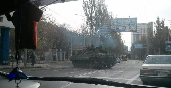 Gunmen in Donetsk have blocked roads in areas near the city's airport / 62.ua
