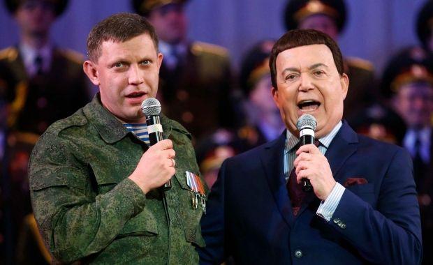 Кобзон и Захарченко / фото REUTERS