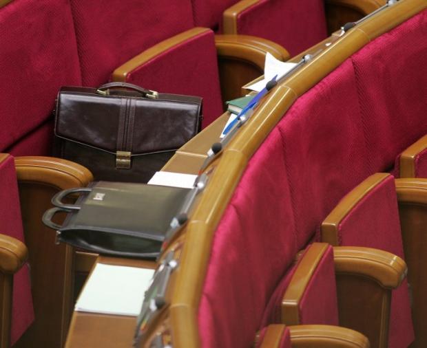 Депутаты отклонили 3 проекта постановлений об отмене голосования за документ / фото УНИАН Владимир Гонтар