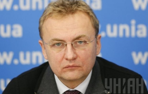 Samopomich leader Andriy Sadoviy wants local election brought forward to spring next year / Photo by UNIAN