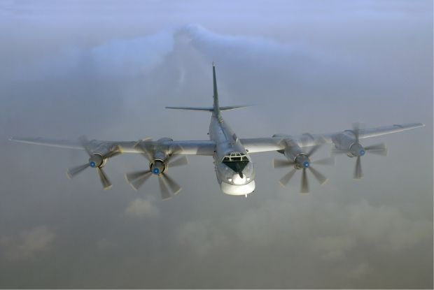 The Tu-95 bomber can carry nuclear-capable cruise missiles / Photo from Wikipedia