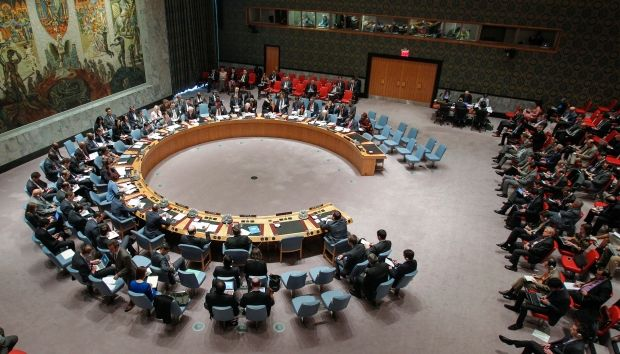 Russia has vetoed a UN Security Council resolution condemning the voting in the breakawy districts of the Donbas in Ukraine / Photo from un.org