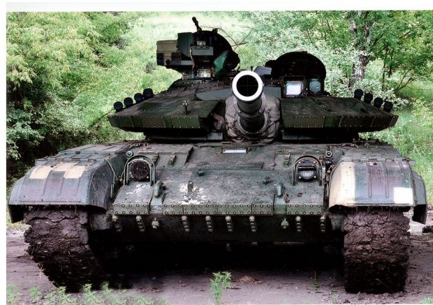 Russian-backed militants have used tanks in attacks at three villages in southern Ukraine / Photo from facebook.com/arsen.avakov