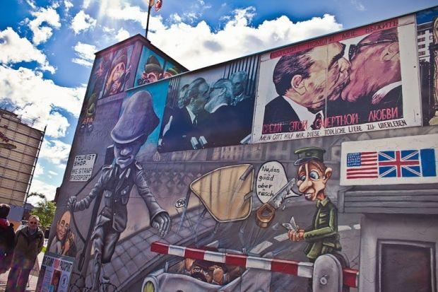 13 августа 1961 года началось строительство Берлинской стены / фото fotki.yandex.ru