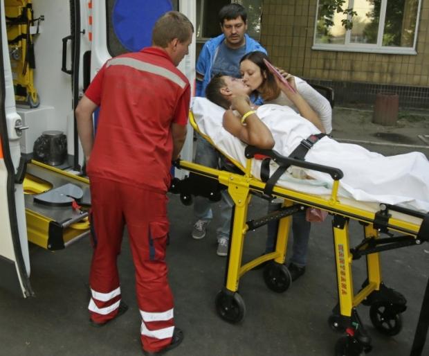 раненые / Фото: УНИАН