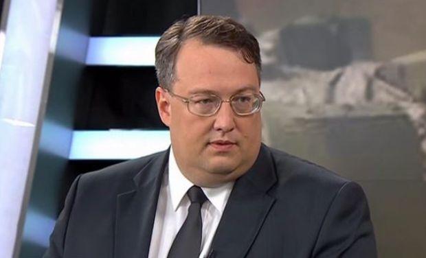Ukrainian Interior Ministry advisor Anton Heraschenko / Photo from TSN
