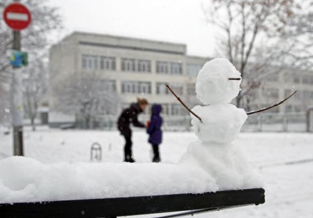 Сегодня в Киеве будет очень холодно / фото УНИАН