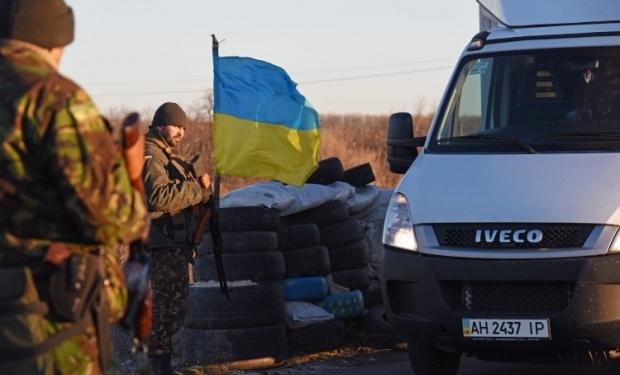 Иллюстративное изображение: украинский блокпост / Фото УНИАН