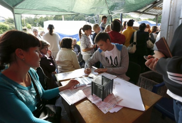 Более половины опрошенныхпереселенцев с Донбасса не имеют работы / УНИАН