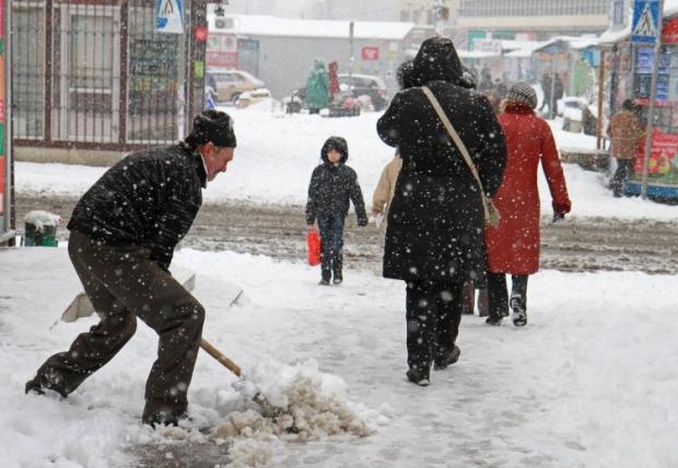 У Києві завтра пройде сніг / УНІАН