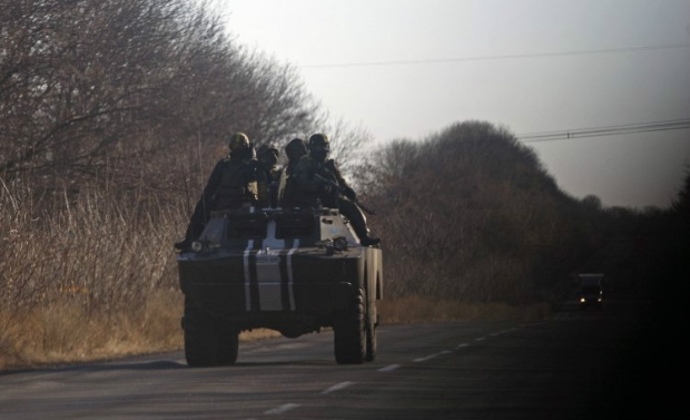 Бойовики продовжують використовувати заборонену Мінськими угодами зброю / фото УНІАН