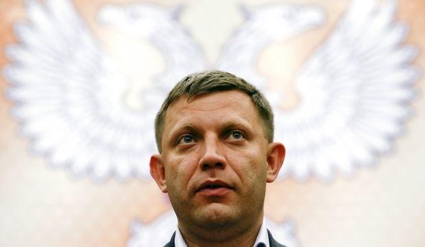 Alexander Zakharchenko / REUTERS