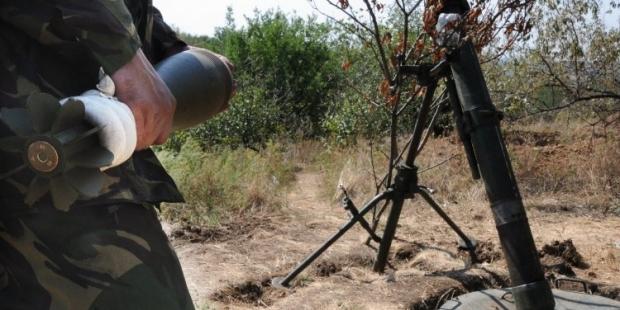 Инцидент произошел в ходе боевой подготовки боевиков / фото УНИАН